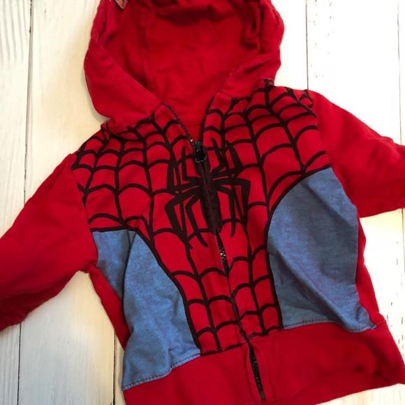 Marvel Comics Spider-Man Boys Shirt//Sweatshirt Long Sleeves Sizes 3,6 NWT
